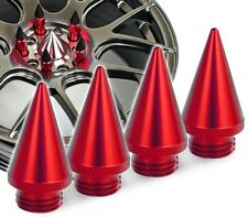 4 x Red Spike Spikes For Wheel Nuts Lug Tuner Lugs
