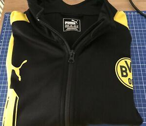 BVB Borussia Dortmund Trainingsjacke schwarz Puma 3XL