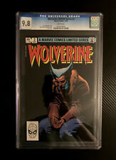 Wolverine Limited Series #3 (Marvel Comics, 1982) CGC 9.8 White Pages