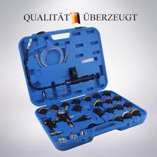 Kühlsystem Abdrücken Tester Druckprüfung Kühler Abdrückgerät Werkzeug 28 tlg KFZ