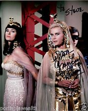 GRACE LEE WHITNEY Hand Signed 8 x 10 Color Photo. Signed to Steve. Authentic