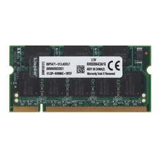 Kingston 1 GB DDR1 Memory RAM PC-2700S 333Mhz 2.5V 200Pin Laptop SODIMM  1GB CL