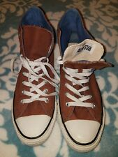 Mens Converse All Star Chuck Taylor Shoes Sneakers 10 VGC Brown High Tops