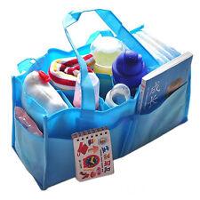 Outdoor Travel Portable Baby Diaper Nappy Divider Storage Organizer Bag Handbag