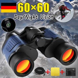Fernglas Feldstecher 3000M 60x 60 Nachtsicht Fernrohr Binoculars Ferngläser Zoom