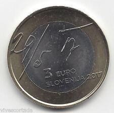 3 Euros Eslovenia 2017 29-5-17 @ Novedad @ Emision 10 ª @
