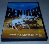 Ben-Hur (DVD, 2-Disc Set, 50th Anniversary) Charlton Heston, Stephen Boyd *RARE