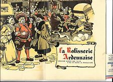 Vintage Belgium & Netherland Menus & Brochure - 1930's