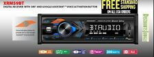 Dual XRM59BT Single DIN Car Stereo Receiver bluetooth voice activation Siri USB