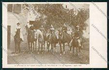 Reggio Emilia San Polo Enza Militari Fanteria cartolina QK0277