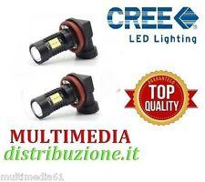 COPPIA LAMPADE LED H8 CANBUS 12-24V  21 LED CREE 780 LUMEN  TOP QUALITY