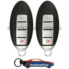 2 Replacement for 2003-2009 Nissan 350Z Key Fob Remote, KBRASTU15