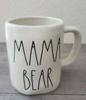 NEW RAE DUNN by Magenta MAMA BEAR Coffee Tea Mug Farmhouse Fall Home Decor
