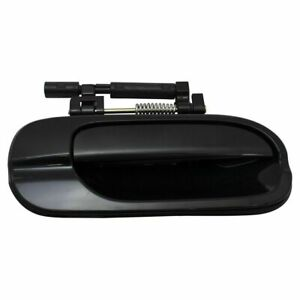 RH Rear Outside Outer Door Handle Smooth Black NEW for 2000-2006 Nissan Sentra