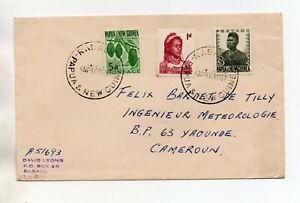 TIMBRES PAPUA NEW GUINEA - Enveloppe voyagée PAPOUASIE NOUVELLE GUINEE