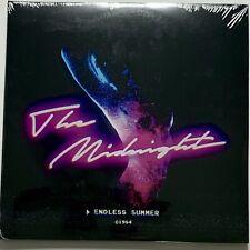 Endless Summer - The Midnight 2xLP Pink/Blue Swirl Vinyl Gatefold, *New & Sealed