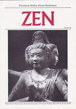 ZEN N°76 DÉC. 1997 JOURNAL DE L'ASSOCIATION ZEN INTERNATIONAL [MAÎTRE DESHIMARU]