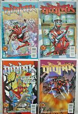 Ninjak 1997 Vol. 2 Acclaim Valiant Comic Lot #1, 2, 3, 4, 5, 6, 7, 8 VF+