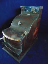 1910 ST LOUIS CHEESE CUTTER PENNY CASH REGISTER RESTORED WORKING KEY  NCR