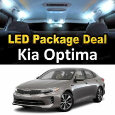9x White LED Lights Interior Package Deal For 2011 - 2015 2016 2017 Kia Optima