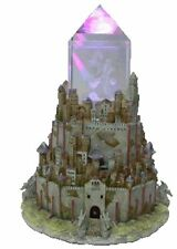 ENCHANTICA DRAGON COLLECTORS FIGURINE THE THRONE CITADEL WITH LIGHT EN3013 BOXED