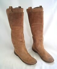 FRYE CLASSIC RIDING BOOTS TALL SADDLE TAN BEIGE Size 9