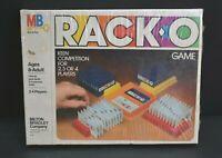 Vintage New 1980 Milton Bradley MB Racko Card Game Factory Sealed NOS 2-4 Player