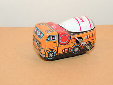 Cement Mixer Wind Up Toy made in Japan no 105 (10076)