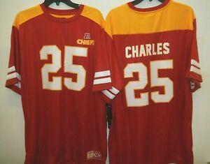 Kansas City Chiefs JAMAL CHARLES Hashmark Football JERSEY Big Tall