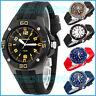 Große analoge XONIX Armbanduhr für Herren mit Licht wasserdicht bis100m