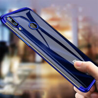 For Xiaomi Redmi 7 Note 7 6 5 Pro Shockproof Silicone Clear Soft TPU Case Cover