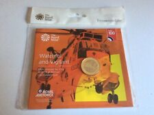 2018 LOW MINTAGE R.A.F. SEA KING £2, BRILLIANT UNCIRCULATED ROYAL MINT PACK