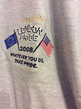 Fuller's London Pride 2008 qualsiasi cosa facciate orgogliosi Polo Shirt Nuovo con confezione L