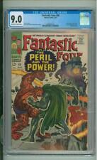 Fantastic Four #60 CGC 9.0 Doctor Doom, Silver Surfer & Inhumans App App 1967