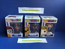 Scooby-Doo Pop - Shaggy, Velma and Scooby-Doo 3-Pop Set Funko -New