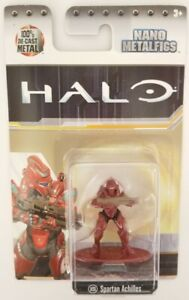 Halo Nano Metalfigs DieCast Metal Figure Figurine Spartan Achilles MS8 by Jada