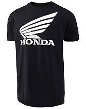 t-shirt Honda Wing Tee colore nero S 70141621 maglietta Troy Lee Designs TLD