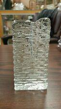 HANDGEARBEITET MUNDGEBLASEN TAPER GLASS CANDLEHOLDER