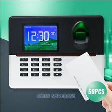 Wifi Fingerprint And Rfid Card Attendance Time Clock Tcpip Usb Remote Access