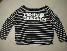 Pull marinière MOLLY BRACKEN blanc et bleu taille unique