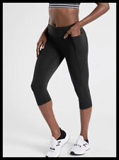 Athleta NWT Women's Velocity Crop Size Small Petite Color Black