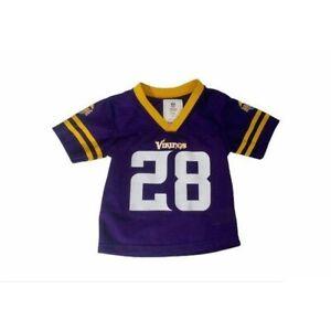 Boys 2T NFL Minnesota Vikings Adrian Peterson jersey shirt