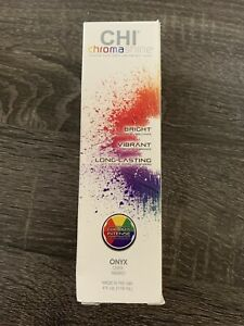 CHI ChromaShine Intense Bold Semi - Permanent Hair (ONYX)