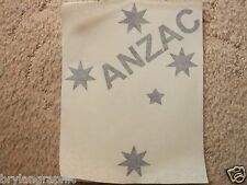 Vinyl car, ute decal Southern Cross & Anzac - Choose colour