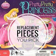 Disney Pretty Pretty Princess Game Replacement Pieces - You Choose