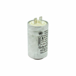 Genuine Zanussi Tumble Dryer Dryer 8uF Interference Capacitor Ducati 1250020334