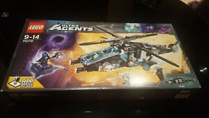 LEGO Ultra Agents 70170 UltraCopter vs. AntiMatter NEW