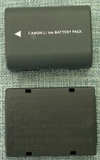 Canon Battery Pack NB-2LH (2 Batteries) OFFICIAL CANON Batteries. Good Condition