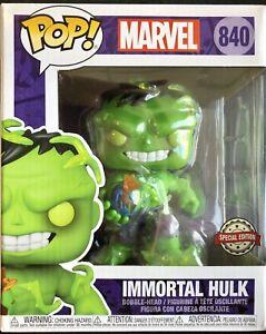 "Funko Marvel Super Heroes Immortal Hulk PX 6"" Pop Vinyl Figure #840"