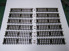 12 - LIONEL #32 SUPER O STRAIGHT TRACK WITH ALL RAIL PINS & BUS BAR CLEANED